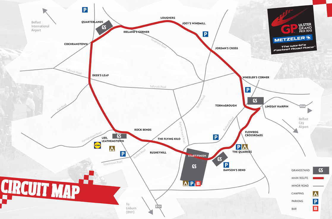 Excellent Facilities at Leathemstown | Ulster Grand Prix