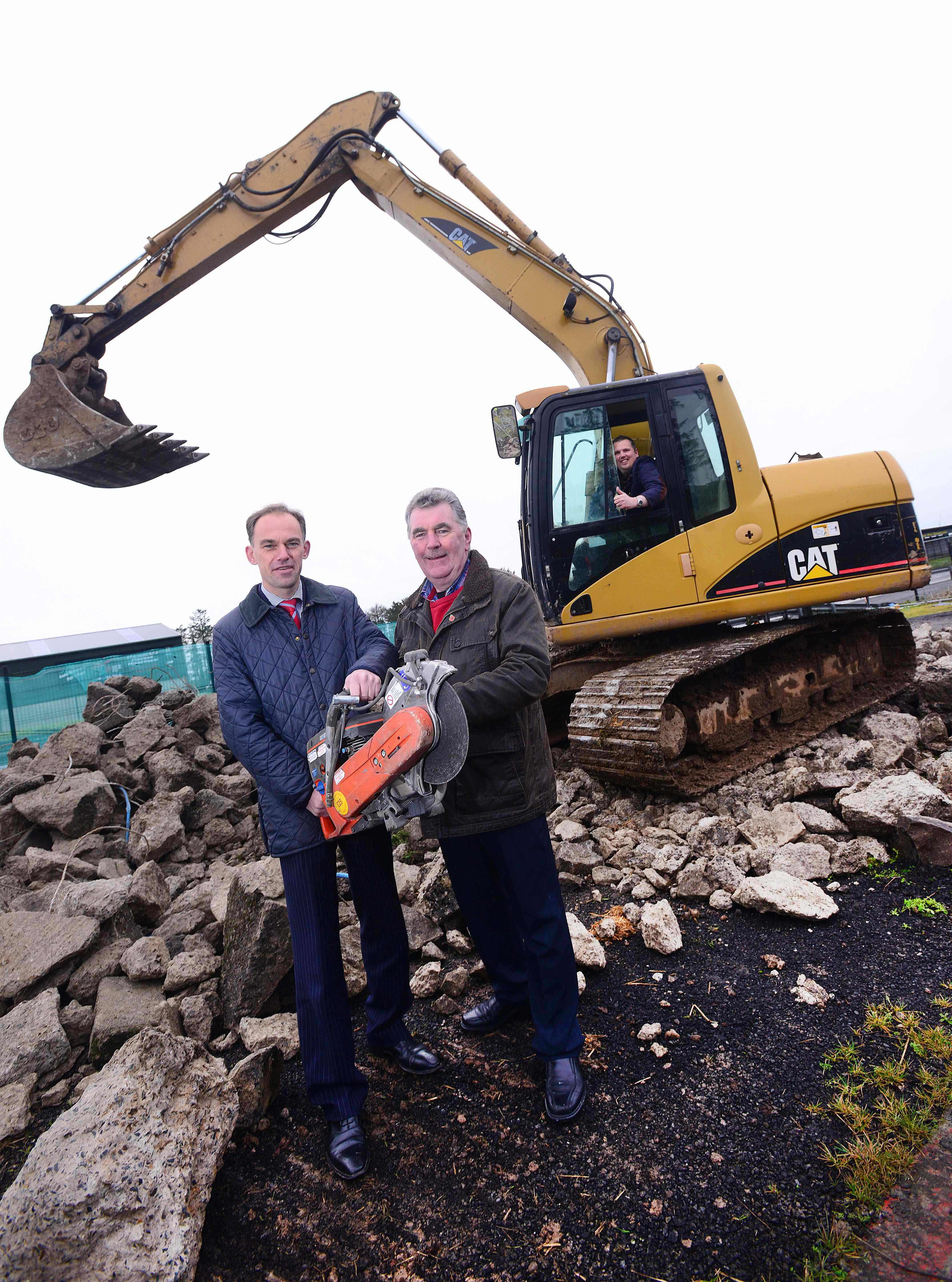 Construction starts on david wood ulster grand prix house for Construction prix